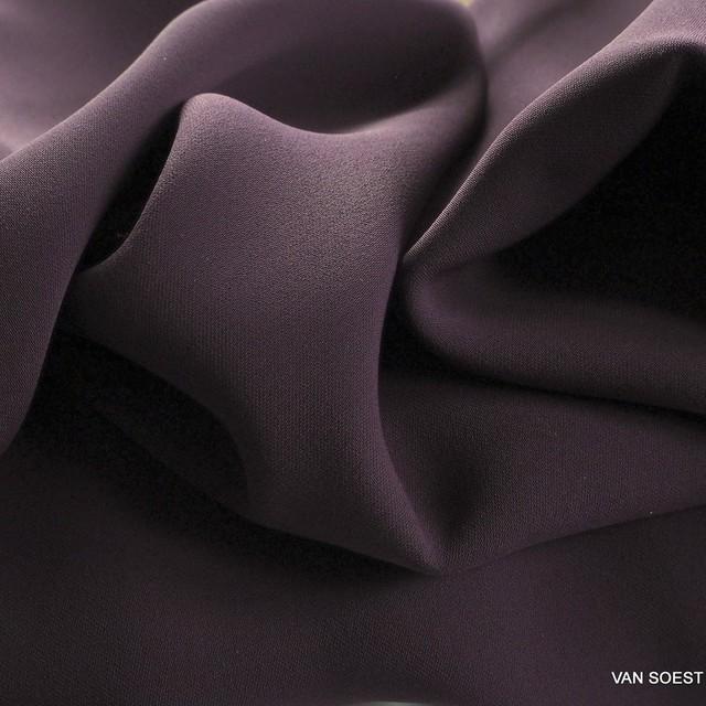 Dunkellila farbiger Vintage Luxus Tuch Satin | Ansicht: Dunkellila farbiger Vintage Luxus Tuch Satin