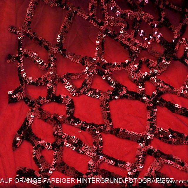 Fantasy shiny double layered sequins in burgundy   View: Fantasy shiny double layered sequins in burgundy