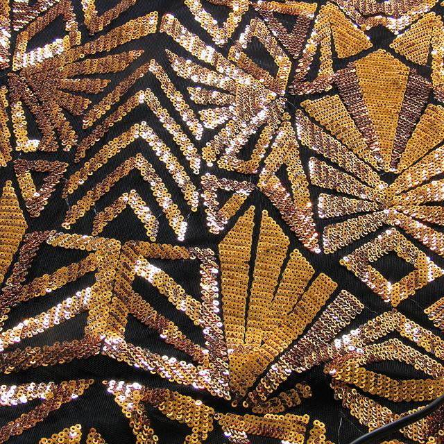 Geometrica Fantastica Dunkel Gold-Kupfer