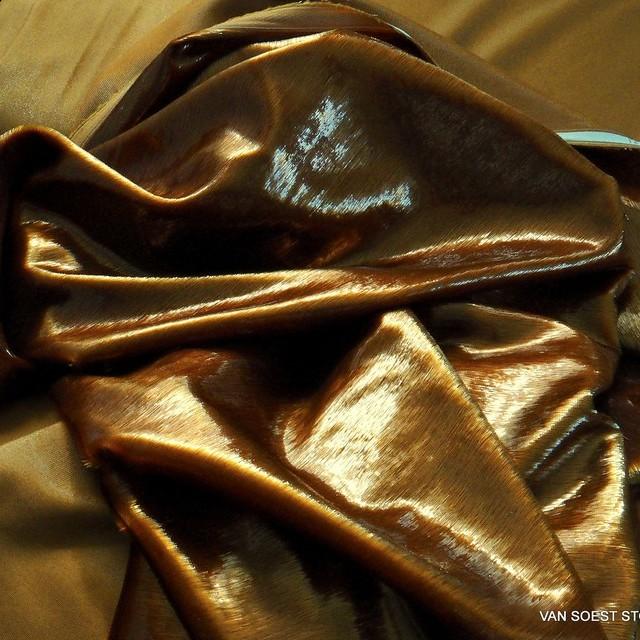 Glitter Designer Samt in Gold | Ansicht: Glitter Designer Samt in Gold