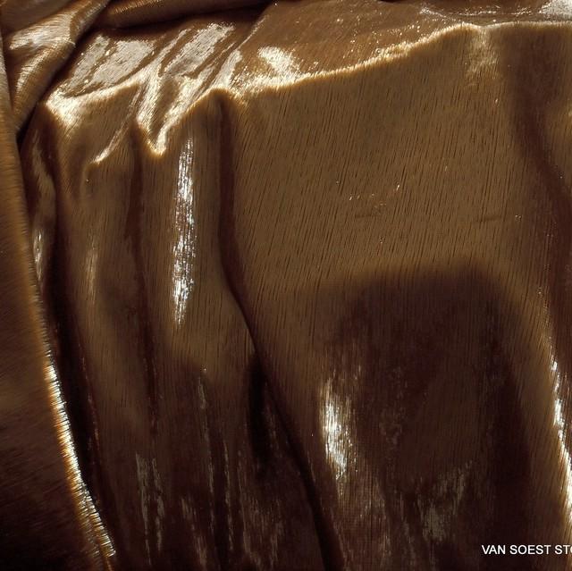 Glitter designer velvet in gold