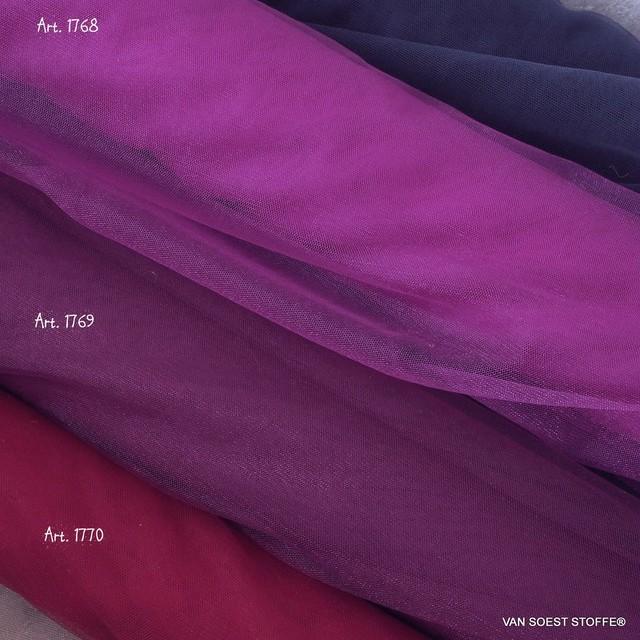 Glitter Stretch Tüll in Farbe dunkel Burgund