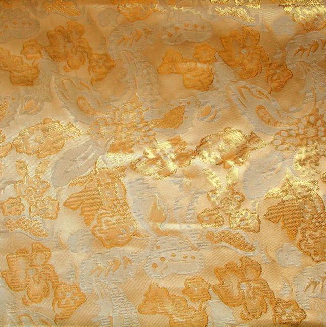 Gold Metallic Jacquard | Ansicht: Goldbrokat Metallic Jacquard