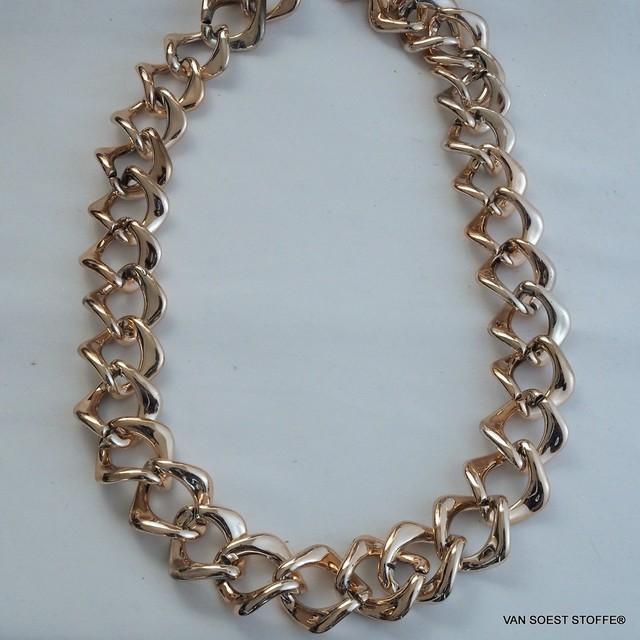 Goldkette 3 cm. breit | Ansicht: Goldkette 3 cm. breit