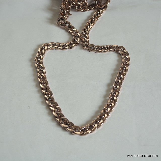 Gold chain 1.5 cm. - Width