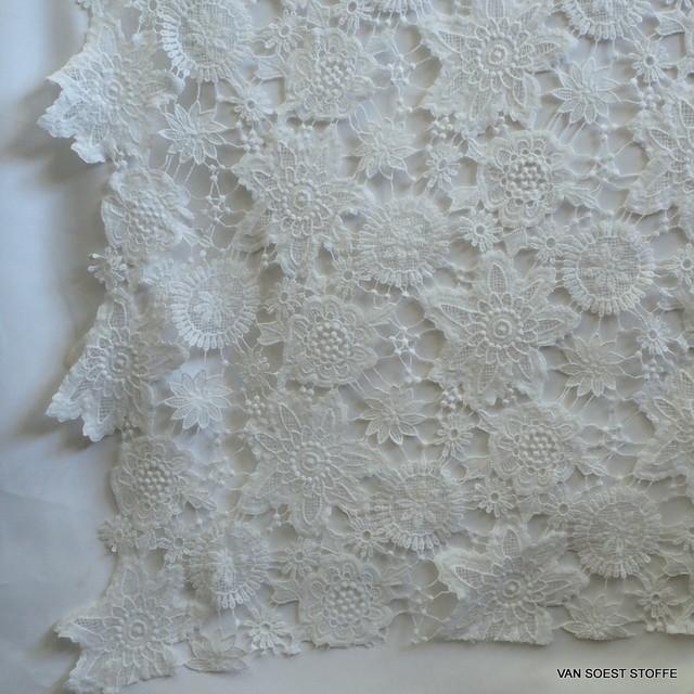 Guipure Spitze in Weiß | Ansicht: Guipure Spitze in Weiß