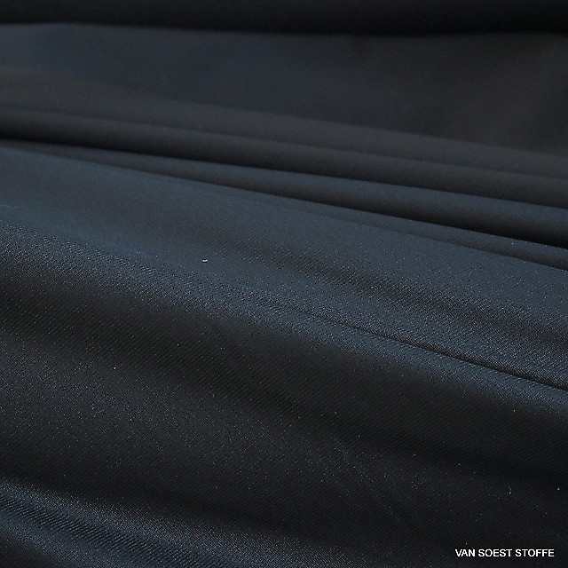 High Stretch Nylon Jersey in Navy Blau