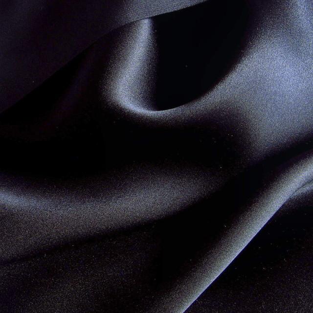 High quality silk fabric online - Satin 4105 in dark navy