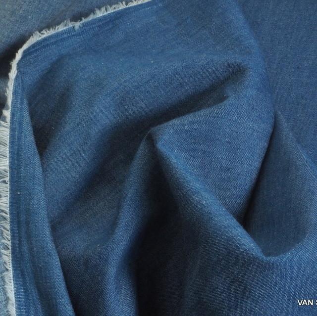 Weicher Jeans Stoff in hellblau