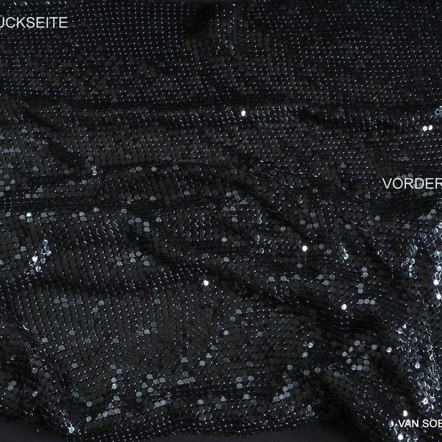 Kettenhemd in tiefschwarz glänzend | Ansicht: Kettenhemd in tiefschwarz glänzend