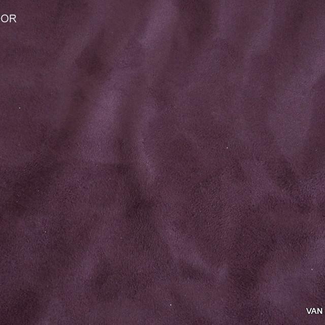 Lederimitat in Dunkel Pflaume | Ansicht: Lederimitat in Dunkel Pflaume