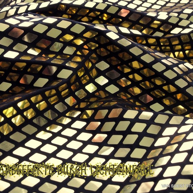Metallic Chain in Gold - Schwarz | Ansicht: Metallic Chain in Gold - Schwarz