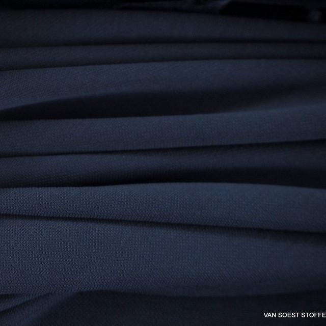 Modal™ Piqué Jersey Mischung in dunkel Navy