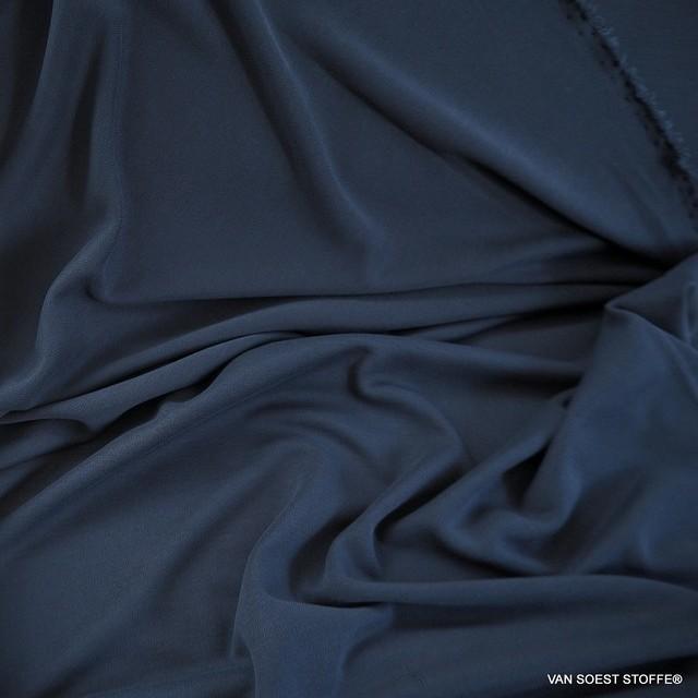 Modal™ Piqué Jersey Mischung in dunkel Navy | Ansicht: Modal™ Piqué Jersey Mischung in dunkel Navy