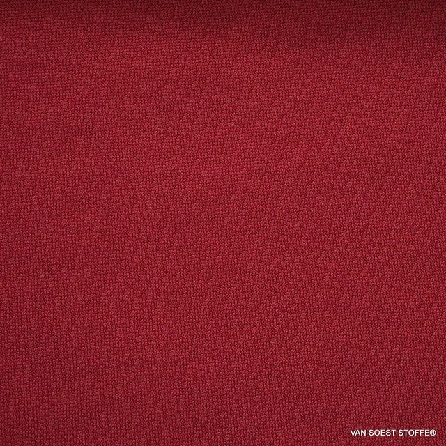 Modal™ Piqué Jersey Mischung in tief Burgund | Ansicht: Modal™ Piqué Jersey Mischung in tief Burgund