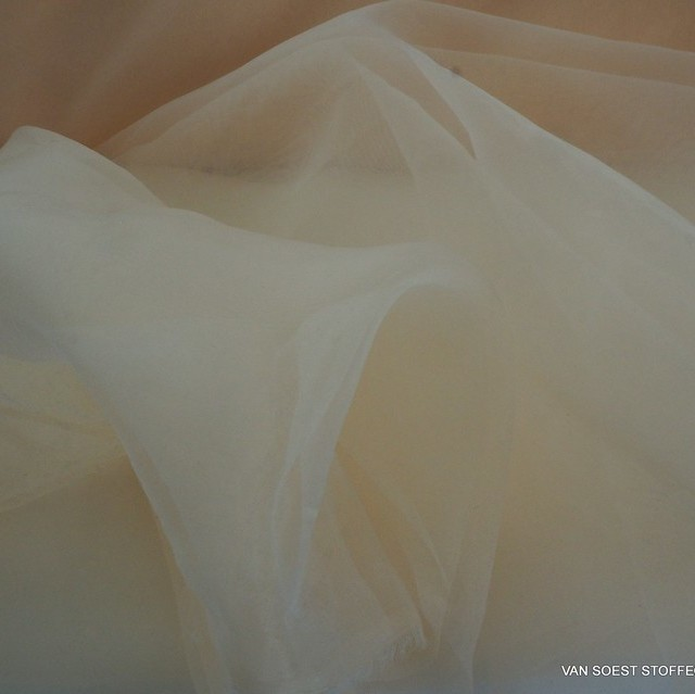 Firm organza in salmon pink | View: organza in salmon pink