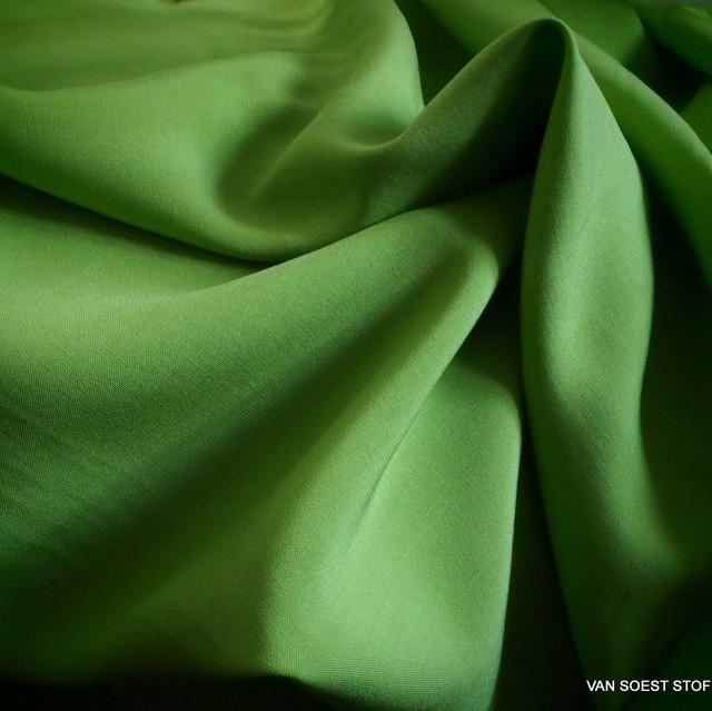 Pesto farbiges 100% Viskose soft Poplin | Ansicht: Pesto farbiges 100% Viskose soft Poplin