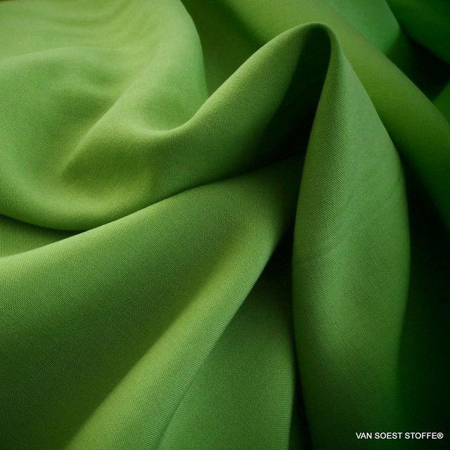 Pesto farbiges 100% Viskose soft Poplin