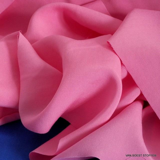 Pink farbiges 100% Viskose soft Poplin