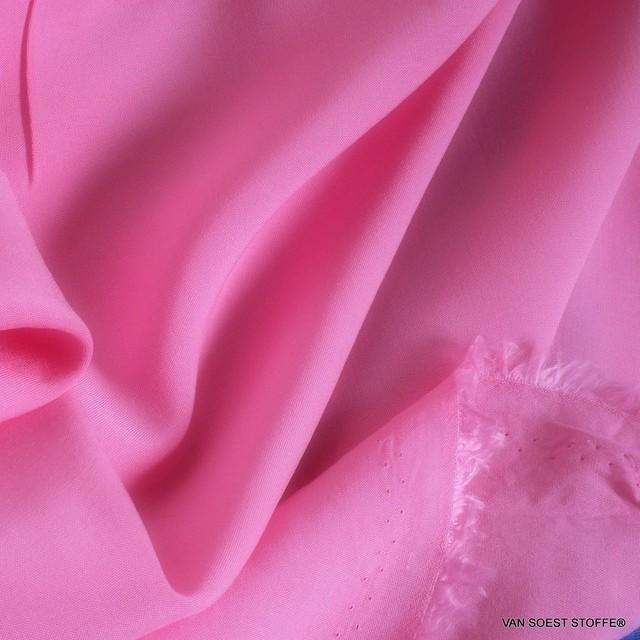 Pink farbiges 100% Viskose soft Poplin | Ansicht: Pink farbiges 100% Viskose soft Poplin