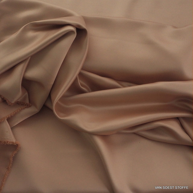 Heavy soft satin in rosewood | View: Heavy soft satin in rosewood