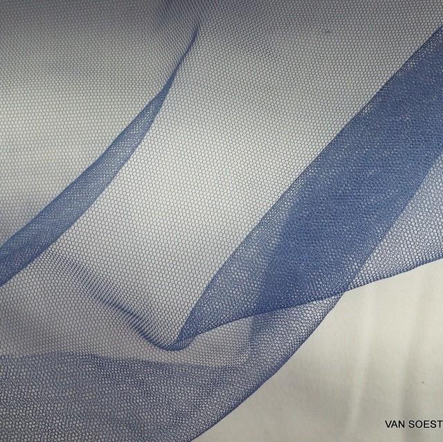 Soft Tüll in Mittelblau | Ansicht: Soft Tüll in Mittelblau