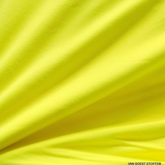 Sportbekleidung Yoga Wellness Modal High Stretch Jersey 170 cm 210gr/m²   Ansicht: Modal High Stretch Jersey in Yellow col of the year