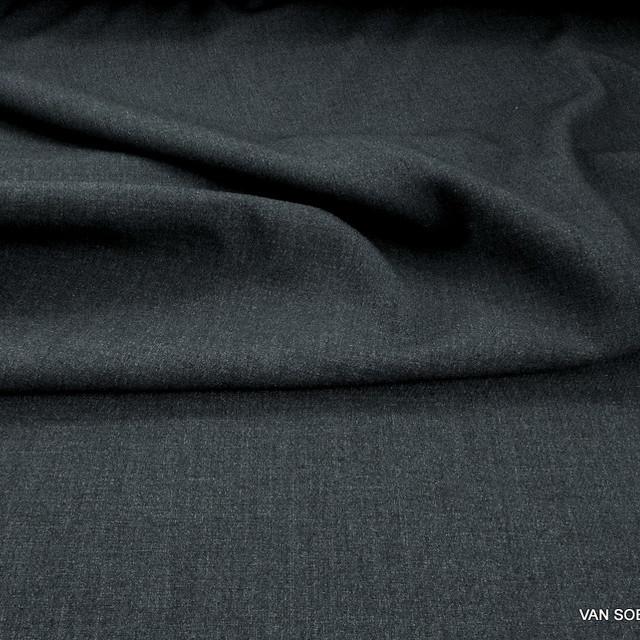 Stretch Doppeltuch in Dunkelgrau | Ansicht: Stretch Doppeltuch in Dunkelgrau