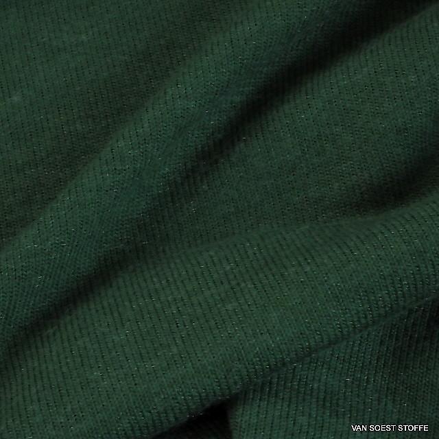 Stretch Feinstrick in Tannen Grün | Ansicht: Stretch Feinstrick in Tannen Grün