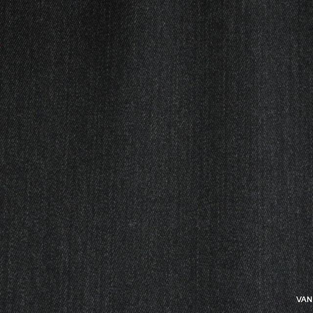 Stretch Melange Gabardine in Dunkelgrau | Ansicht: Stretch Melange Gabardine in Dunkelgrau