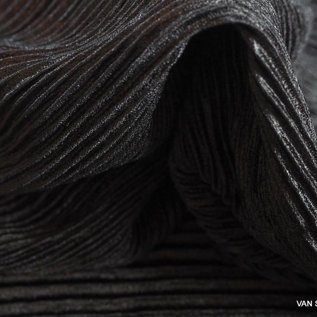 Stretch Plissee in Schwarz | Ansicht: Stretch Plissee in Silber Grau