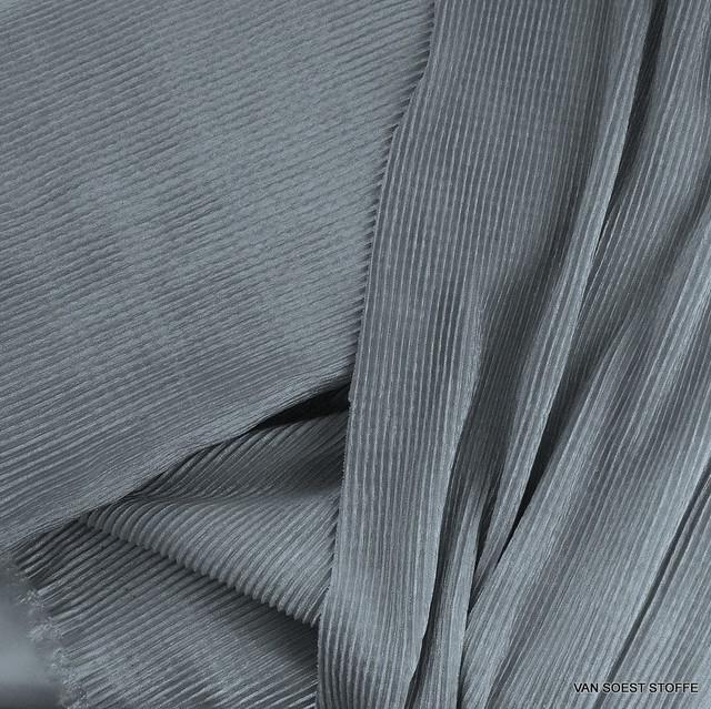 Stretch Plissee in Silber Grau | Ansicht: Stretch Plissee in Silber Grau