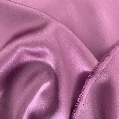 Stretch silk satin 19mm in peony purple | View: Stretch silk satin 19mm in peony purple