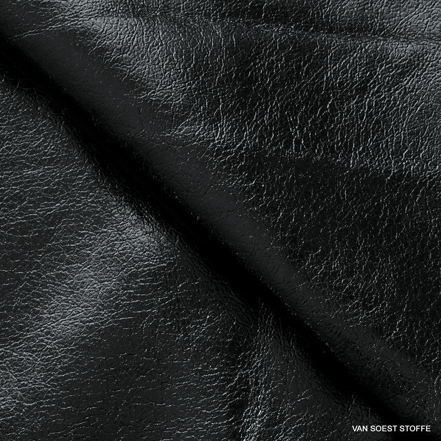 Stretch Wetlook Vinyl in Crash Look Farbe Schwarz | Ansicht: Stretch Wetlook Vinyl in Crash Look Farbe Schwarz
