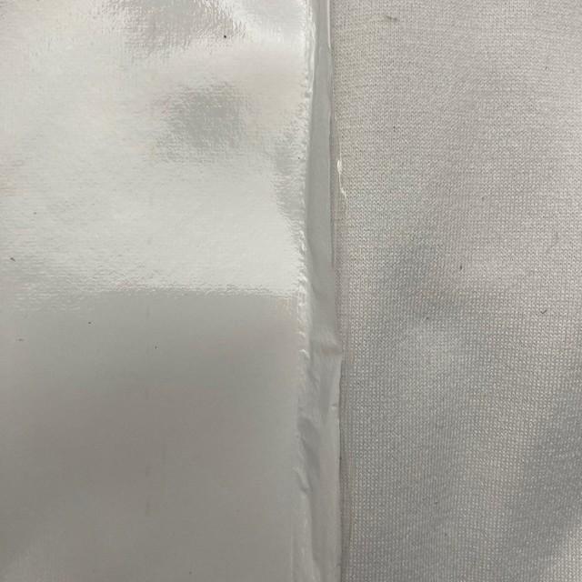 Stretch Wetlook soft Vinyl mit softer Abseite in Farbe Weiss | Ansicht: Stretch Wetlook soft Vinyl mit softer Abseite in Farbe Weiss