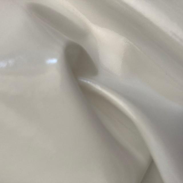 Stretch Wetlook soft Vinyl mit softer Abseite in Farbe Weiss