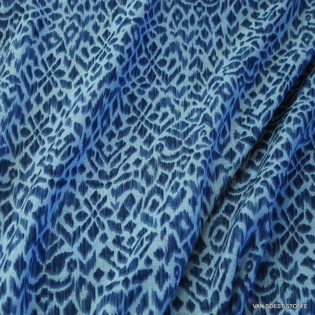 Supersofte Jeans Musseline Tierfell Optik | Ansicht: Supersofte Jeans Musseline Tierfell Optik