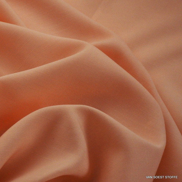 TECHNOSILK 100% TENCEL® Stoff in Hell Orange