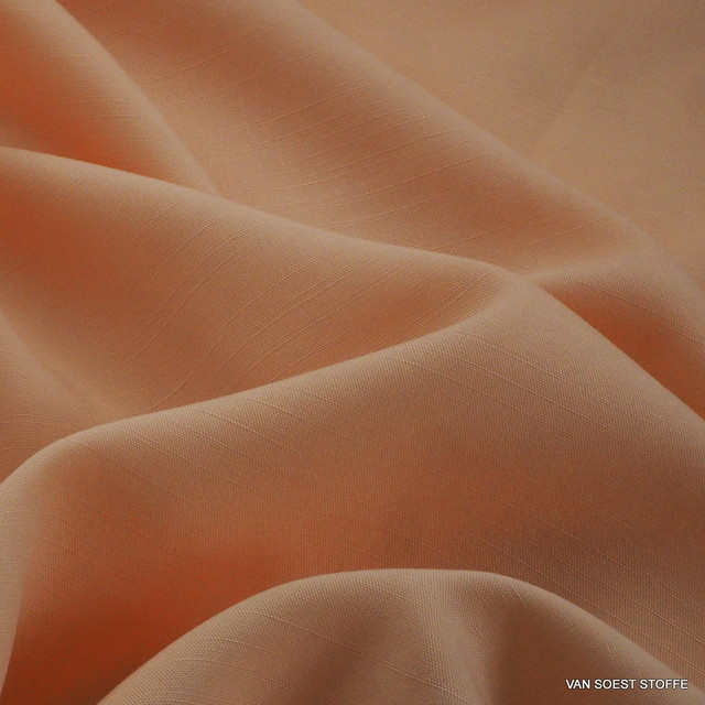 TECHNOSILK 100% TENCEL® Stoff in Hell Orange | Ansicht: TECHNOSILK 100% TENCEL® Stoff in Hell Orange