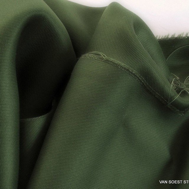 TENCEL™-Cupro Glanz steep twill in great loden green | View: TENCEL™-Cupro Glanz steep twill in great loden green