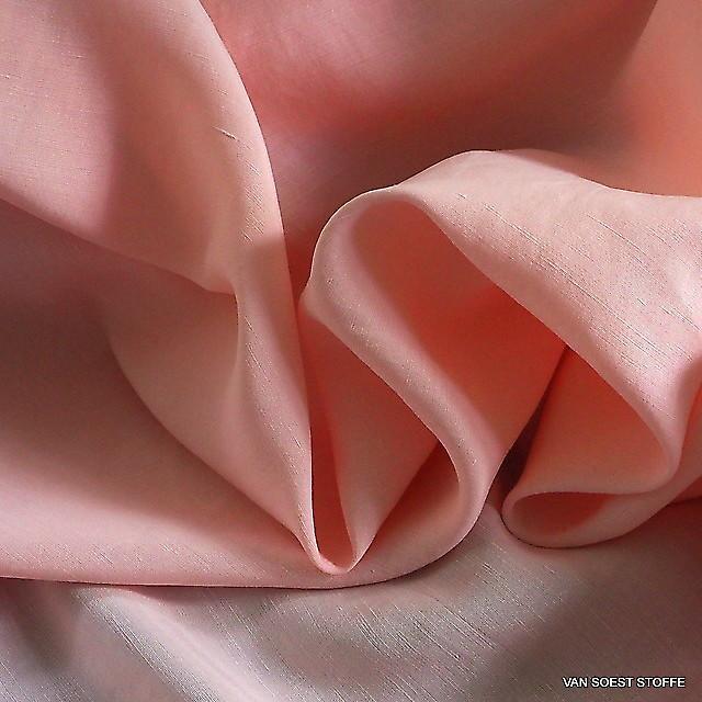 TENCEL®-cupro-linen in Rosé | View: TENCEL®-cupro-linen in Rosé