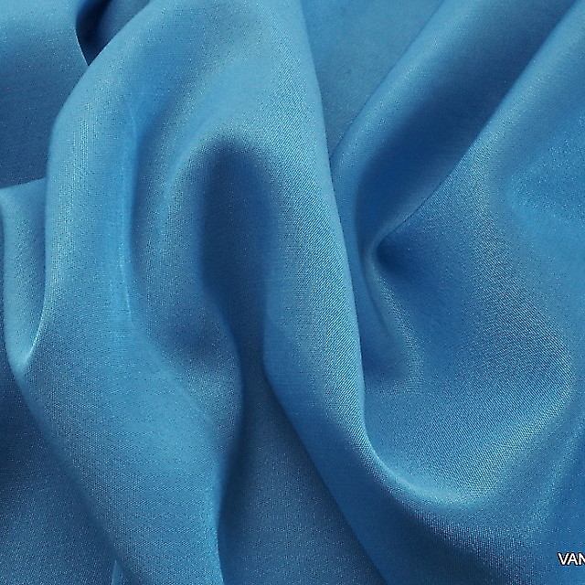 TENCEL™ - ROLVA® Hi-Stretch Crepe Satin in Sky Blue