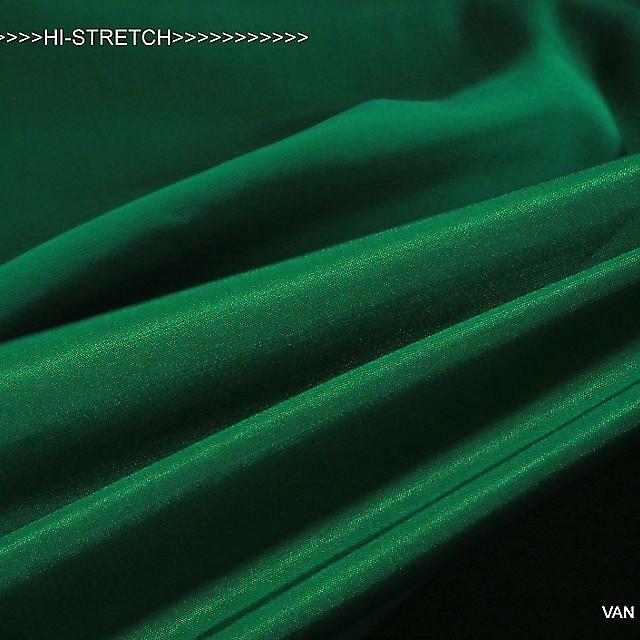 TENCEL® - ROLVA® Hi-Stretch Crepe Satin in Smaragd Grün