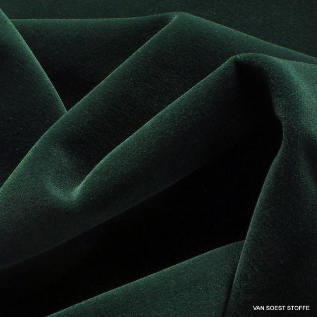 Vintage Baumwoll Samt in Tannengrün | Ansicht: Vintage Baumwoll Samt in Tannengrün Modell Beispiel