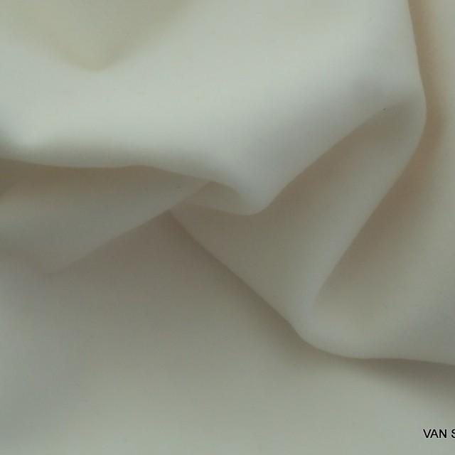 Vintage Baumwoll Samt in Weiß | Ansicht: Vintage Baumwoll Samt in Weiß