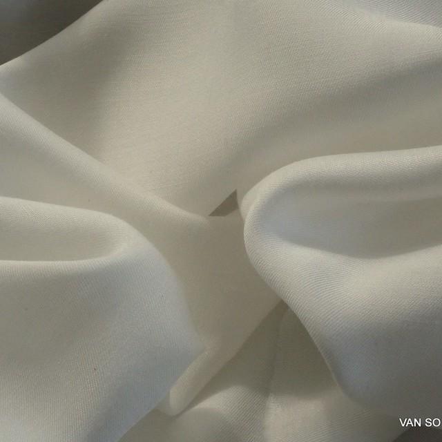 Vintage Kupfer Seide in off-white als Twill Gewebe | Ansicht: Vintage Kupfer Seide in off-white als Twill Gewebe