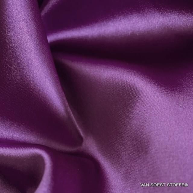 Violetter Satin Stretch | Ansicht: Violetter Satin Stretch