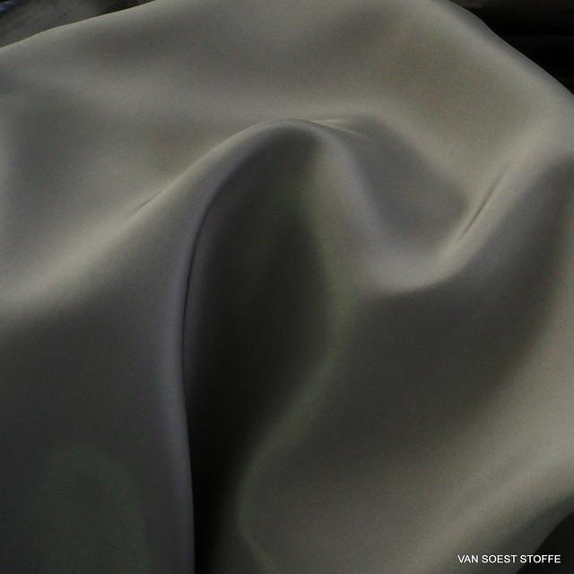 100% Viskose Futterstoff in Silber Grau | Ansicht: 100% Viskose Futterstoff in Silber Grau