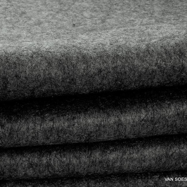 Wool-felt mixture in anthracite grey | View: Wool-felt mixture in anthracite grey