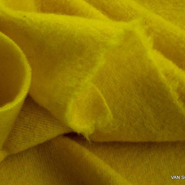 Wollflausch in tollem Gelb | Ansicht: Wollflausch in tollem Gelb